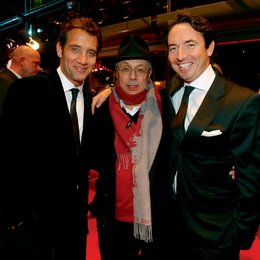 "59. Internationale Filmfestspiele Berlin / Berlinale 2009 / Eröffnung mit ""The International"" / Clive Owen, Dieter Kosslick und Martin Bachmann"