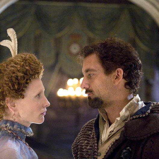 Elizabeth - Das goldene Königreich / Cate Blanchett / Clive Owen Poster
