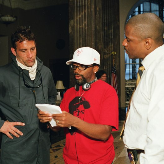 Inside Man / Clive Owen / Spike Lee / Denzel Washington / Set