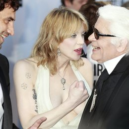 Courtney Love / Karl Lagerfeld / 64. Filmfestspiele Cannes 2011 Poster
