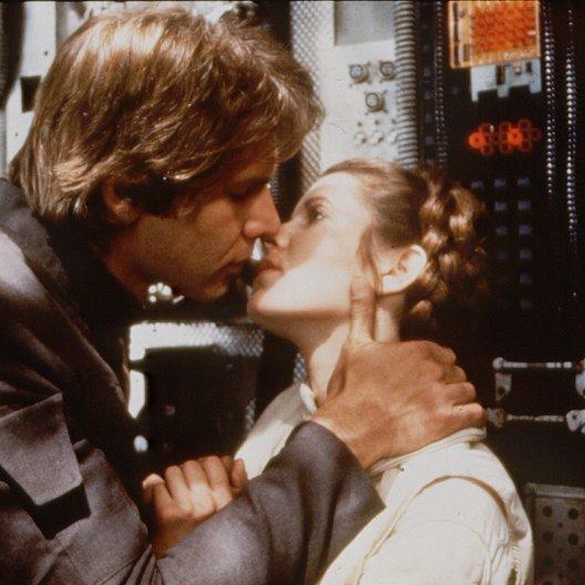Star Wars: Episode V - Das Imperium schlägt zurück / Carrie Fisher Poster