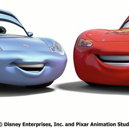 Cars / Sally & Lightning McQueen Poster
