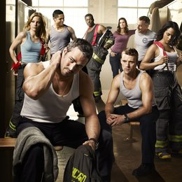 Chicago Fire / Chicago Fire (1. Staffel) / Jesse Spencer / Lauren German / Taylor Kinney / Monica Raymund Poster