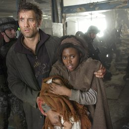 Children of Men, The / Clive Owen / Claire-Hope Ashitey Poster