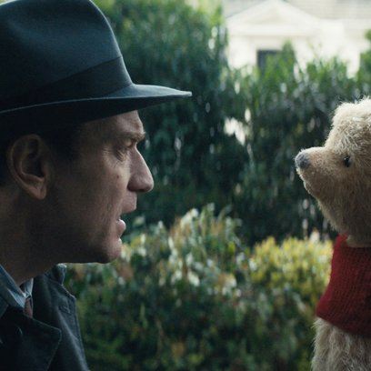Ewan McGregor plays Christopher Robin opposite his longtime friend Winnie the Pooh in Disney's heartwarming live action adventure CHRISTOPHER ROBIN. Poster