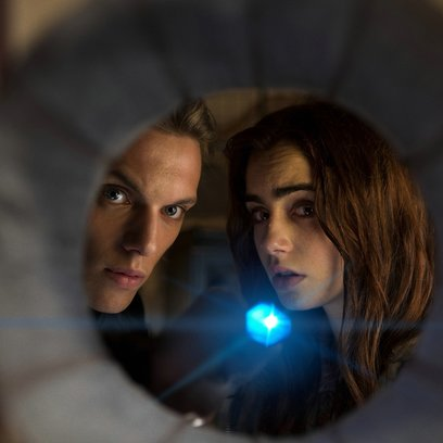 Chroniken der Unterwelt - City of Bones / Jamie Campbell Bower / Lily Collins Poster