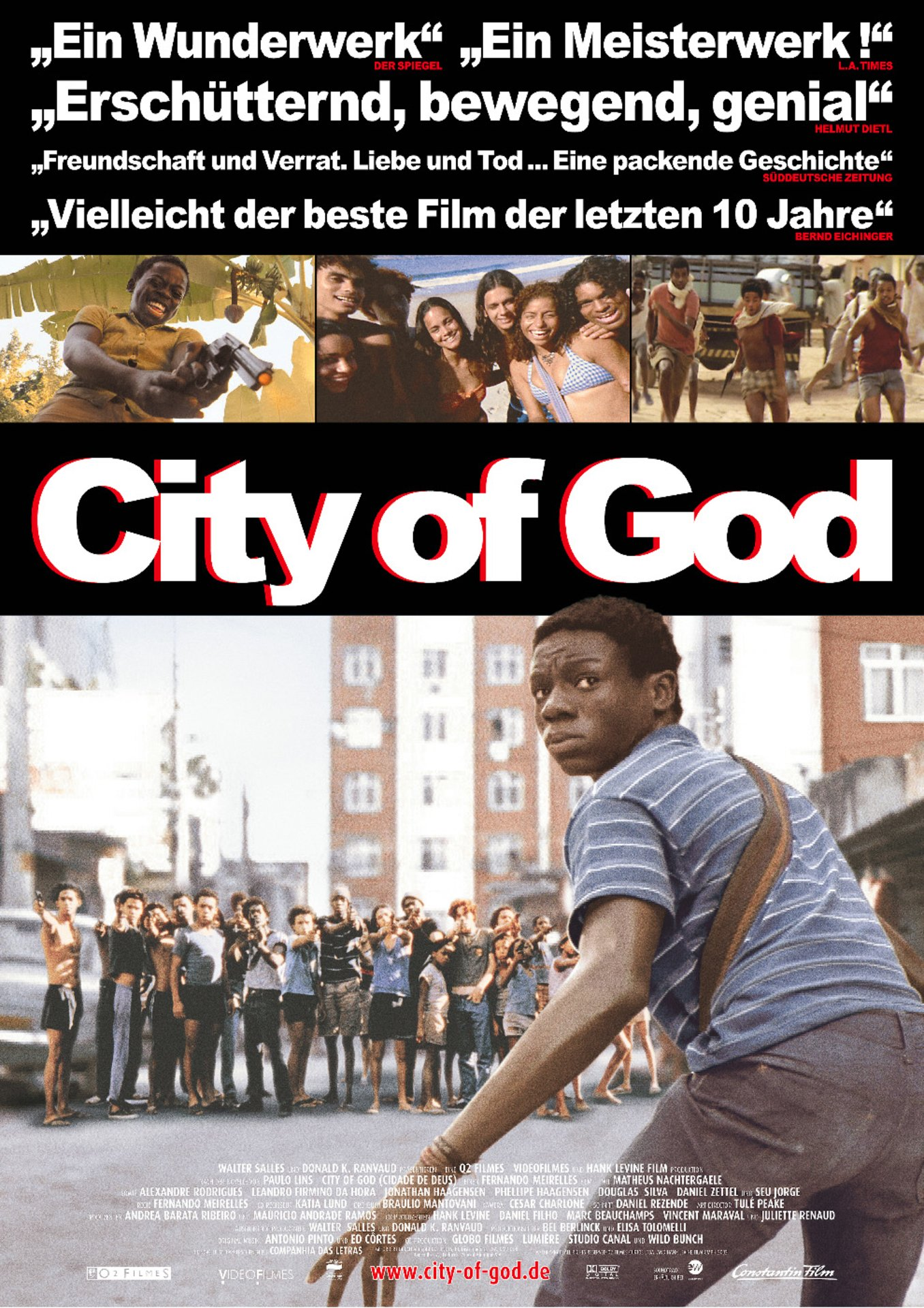 city of god film The story of knockout ned the genre of city of god is listed as a crime drama, there are many other films that share the same tenor of genre as city of god, such as.