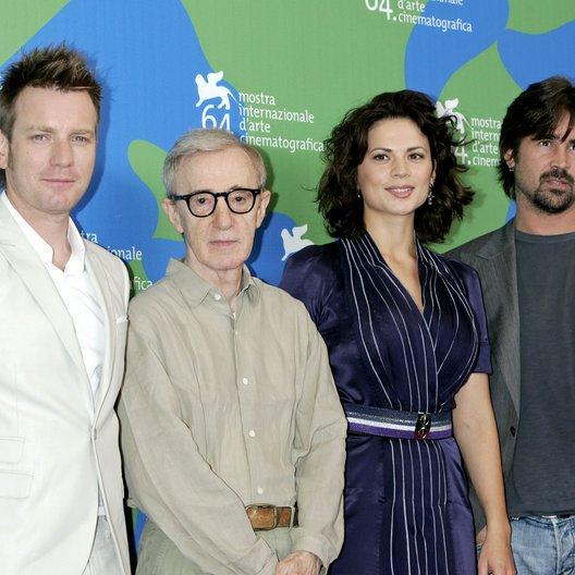 McGregor, Ewan / Allen, Woody / Atwell, Hayley / Farrell, Colin / 64. Filmfestspiele Venedig 2007 / Mostra Internazionale d'Arte Cinematografica Poster