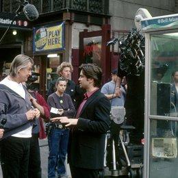 Nicht auflegen! / Joel Schumacher (2. v. l.) / Colin Farrell / am Set Poster
