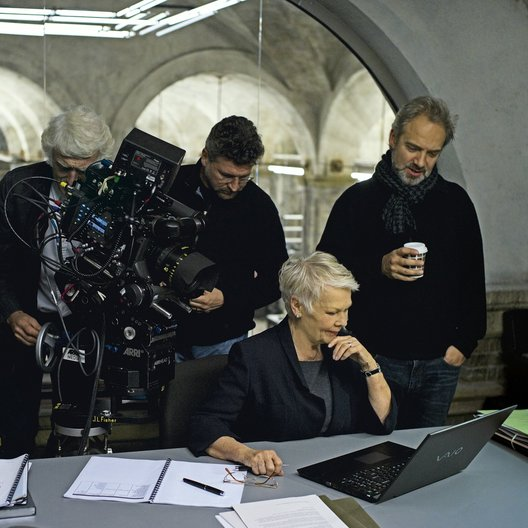 Skyfall / Set / Dame Judi Dench