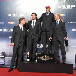 Rush - Alles für den Sieg / Filmpremiere / Chris Hemsworth / Daniel Brühl / Niki Lauda / Ron Howard