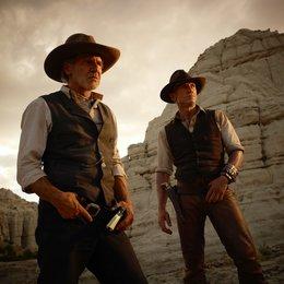 Cowboys & Aliens / Harrison Ford / Daniel Craig Poster