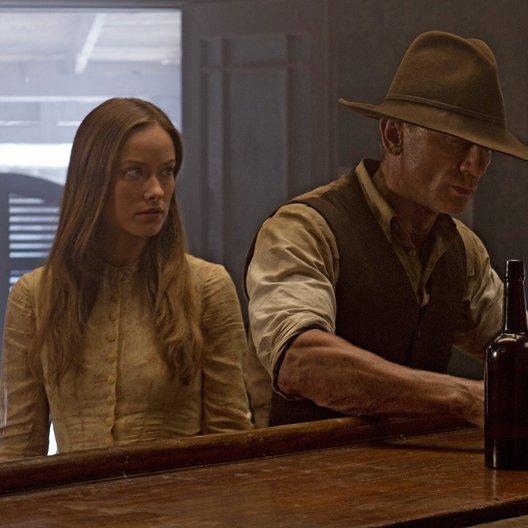 Cowboys & Aliens / Olivia Wilde / Daniel Craig Poster