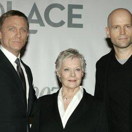 James Bond 007: Ein Quantum Trost / James Bond 007: Quantum of Solace / Pressekonferenz / Daniel Craig / Dame Judi Dench / Marc Forster Poster