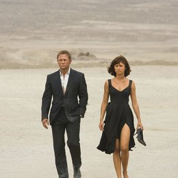 James Bond 007: Ein Quantum Trost / James Bond 007: Quantum of Solace / Daniel Craig / Olga Kurylenko Poster