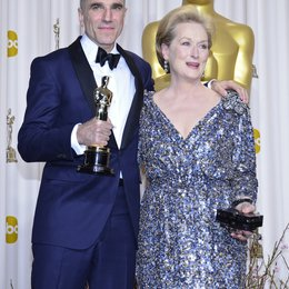 Daniel Day-Lewis / Meryl Streep / 85th Academy Awards 2013 / Oscar 2013 Poster