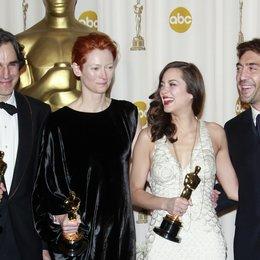 Day-Lewis, Daniel / Tilda Swinton / Marion Cotillard / Javier Bardem / Oscar 2008 Poster