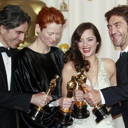 Oscar - 80. Academy Award / Oscarverleihung 2008 / Daniel Day-Lewis, Tilda Swinton, Marion Cotillard, Javier Bardem Poster