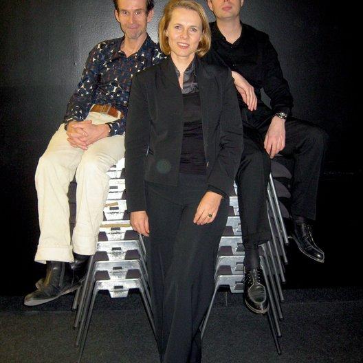 Ulrich Matthes, Annette Kusche und Daniel Kehlmann, Poster