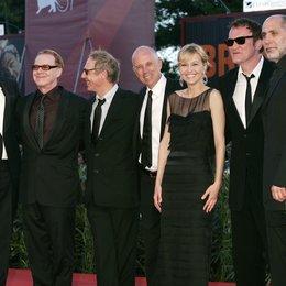 Jury / Guadagnino, Luca / Elfman, Danny / Desplechin, Arnaud / Salvatores, Gabriele / Tarantino, Quentin / Arriaga, Guillermo / 67. Internationale Filmfestspiele Venedig 2010