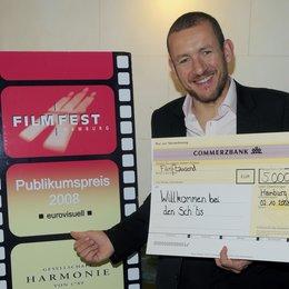 """Dany Boon erhielt auf dem Filmfest Hamburg den Publikumspreis 2008 für """"Willkommen bei den Sch'tis"""" Poster"""