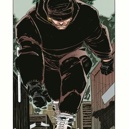 """Daredevil / Original cover of the comic book """"Daredevil: Man Without Fear"""" Poster"""