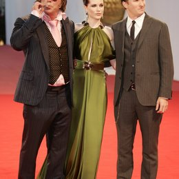 Rourke, Mickey / Wood, Evan Rachel / Aronofsky, Darren / 65. Filmfestspiele Venedig 2008 / Mostra Internazionale d'Arte Cinematografica