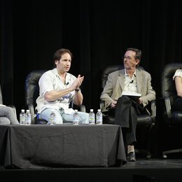 Greer, Judy / Duchovny, David / Kilday, Gregg / Lopez, Jennifer / Independent Film Panel Discussion / 22th Independent Spirit Awards 2007 Poster