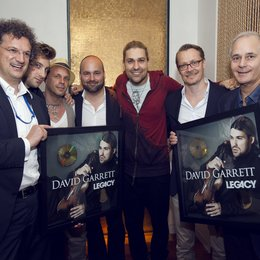 Tobias Weigold Wimmer (Weigold & Böhm), Jamie Corby (The Music & Media Partnership), Sven Kilthau-Lander, Sergio Garcia Vidal (Head Of Marketing Pop Universal Music Group), David Garrett, Dirk Baur, Rick Blaskey (The Music & Media Partnership) Poster