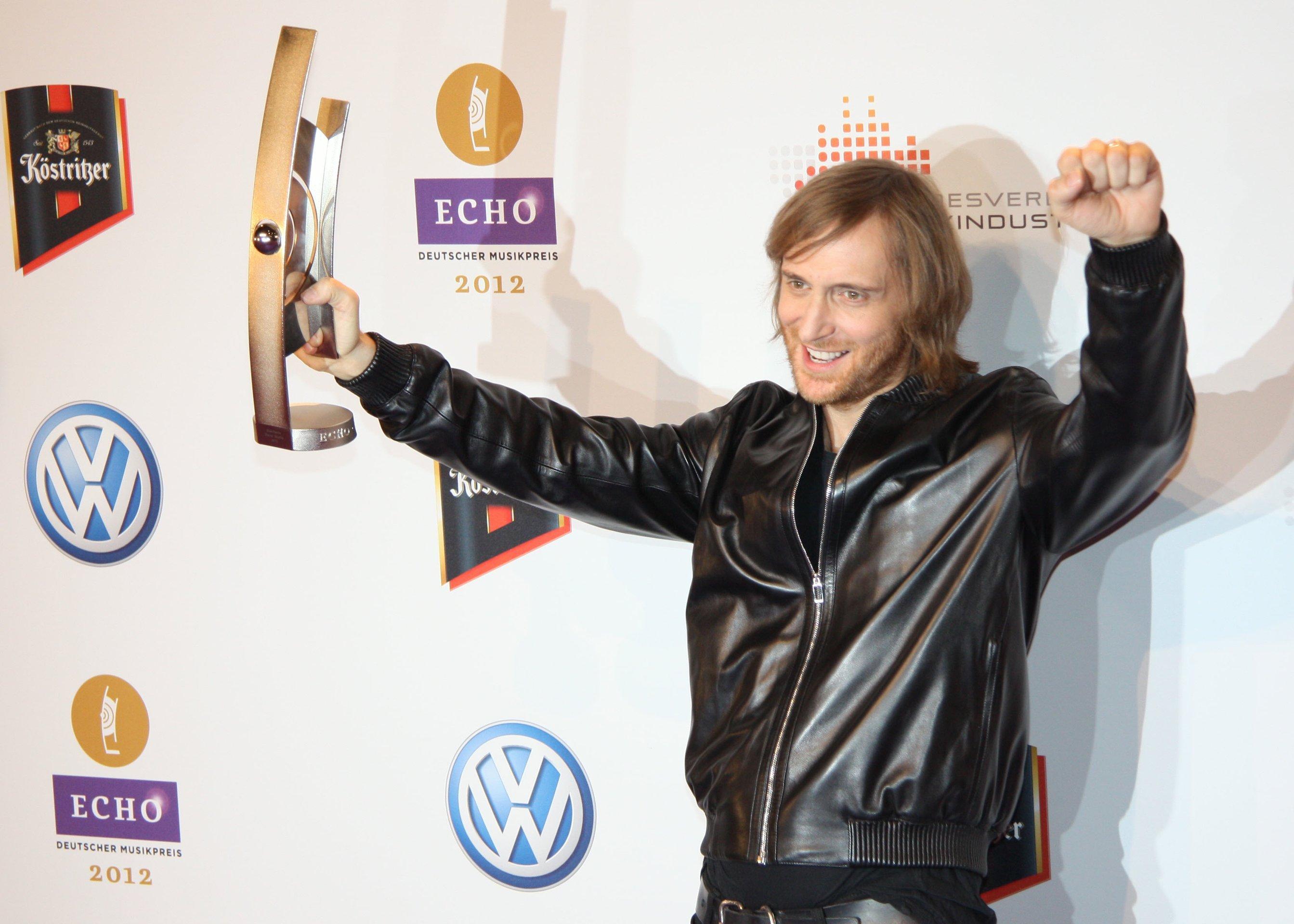 David Guetta · Portrait · KINOde