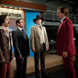 Anchorman - Die Legende kehrt zurück / Anchorman 2 / Paul Rudd / Steve Carell / David Koechner / Will Ferrell Poster