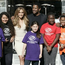 Jennifer Lopez / Denzel Washington / Jennifer Lopez will join Denzel Washington as National Spokesperson for Boys & Girls Club of America Poster