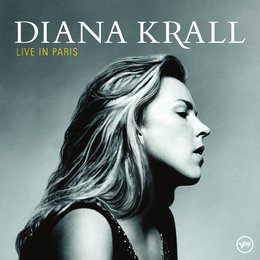 Krall, Diana / Live In Paris Poster