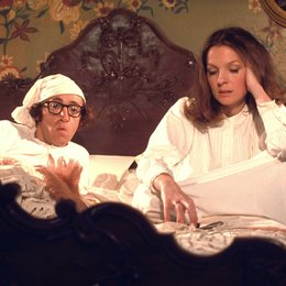 letzte Nacht des Boris Gruschenko, Die / Woody Allen / Diane Keaton Poster