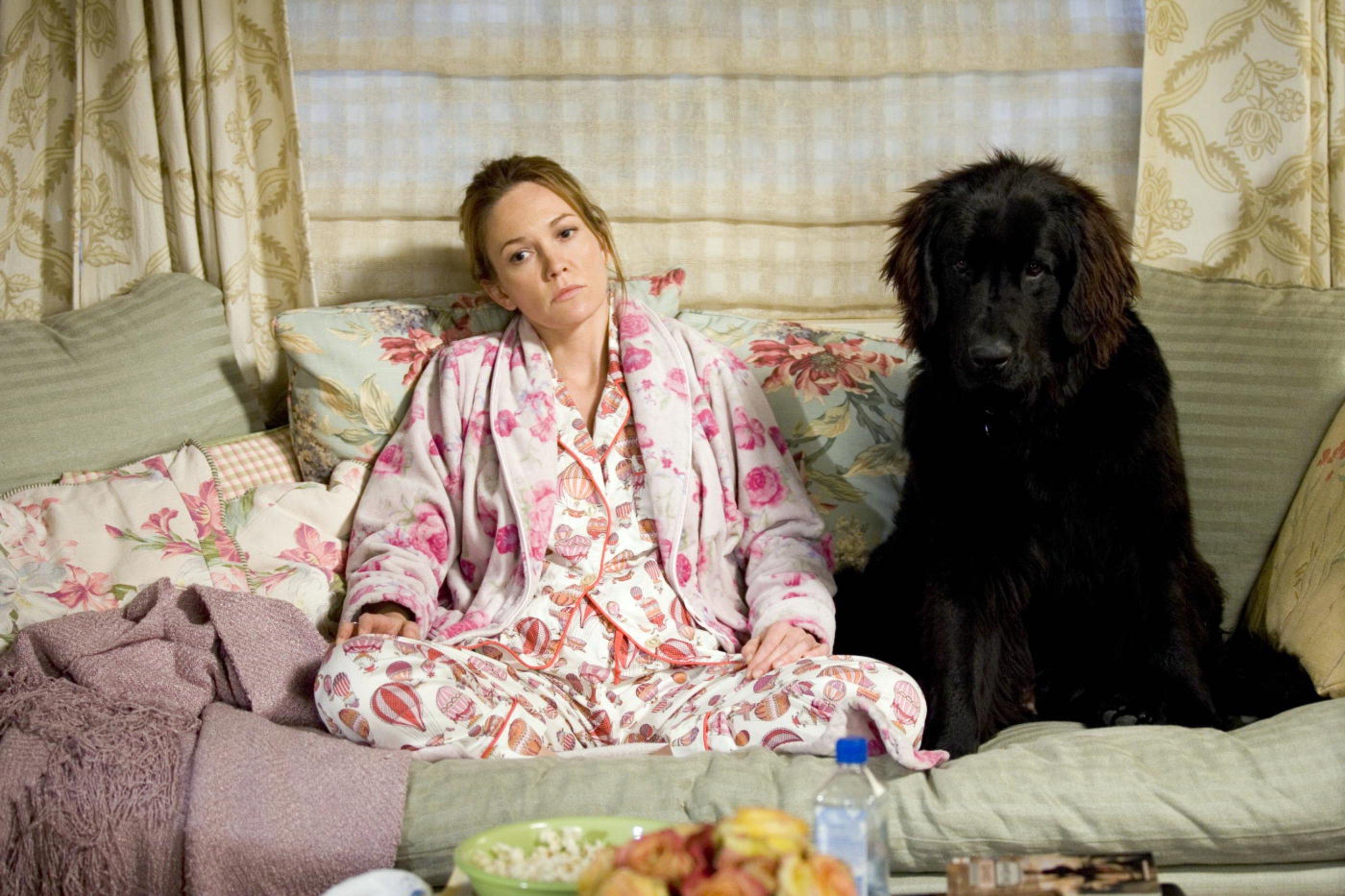 Frau mit Hund sucht Mann mit Herz / Diane Lane Poster