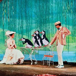 Mary Poppins / Julie Andrews / Dick van Dyke Poster
