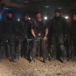 Expendables 2, The / Jason Statham / Randy Couture / Sylvester Stallone / Terry Crews / Dolph Lundgren / Yu Nan Poster