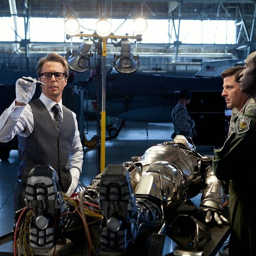 Iron Man 2 / Robert Downey Jr. / Sam Rockwell / Don Cheadle