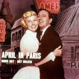 April in Paris / Doris Day / Claude Dauphin Poster