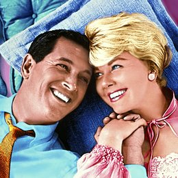 Bettgeflüster / Rock Hudson / Doris Day Poster