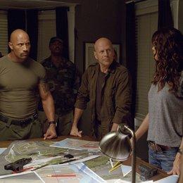 G.I. Joe 3D: Die Abrechnung / G.I. Joe : Die Abrechnung / Dwayne Johnson / Bruce Willis Poster