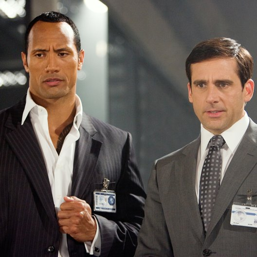 "Get Smart / Dwayne ""The Rock"" Johnson / Steve Carell Poster"