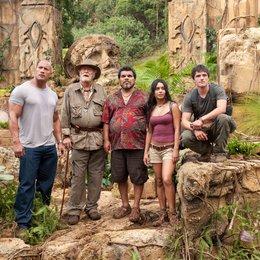 Reise zur geheimnisvollen Insel, Die / Dwayne Johnson / Sir Michael Caine / Luis Guzmán / Vanessa Anne Hudgens / Josh Hutcherson Poster