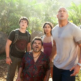 Reise zur geheimnisvollen Insel, Die / Josh Hutcherson / Luis Guzmán / Vanessa Anne Hudgens / Dwayne Johnson Poster
