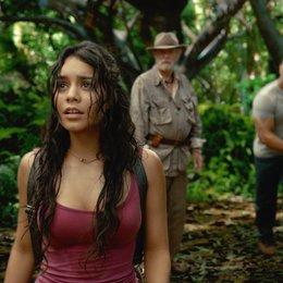 Reise zur geheimnisvollen Insel, Die / Vanessa Anne Hudgens / Sir Michael Caine / Dwayne Johnson / Luis Guzmán Poster