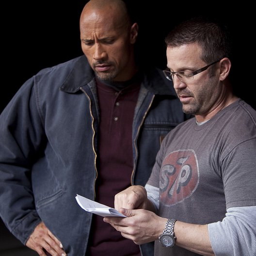 Snitch - Ein riskanter Deal / Set / Dwayne Johnson / Ric Roman Waugh Poster
