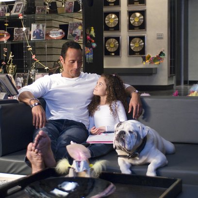 "Daddy ohne Plan / Dwayne ""The Rock"" Johnson / Madison Pettis Poster"
