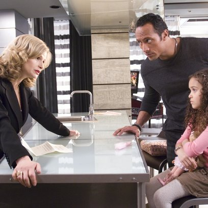 "Daddy ohne Plan / Kyra Sedgwick / Dwayne ""The Rock"" Johnson / Madison Pettis Poster"