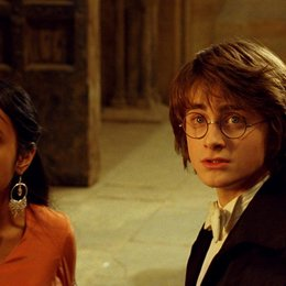 Harry Potter und der Feuerkelch / Shefali Chowdhury / Daniel Radcliffe Poster