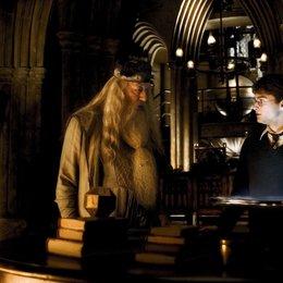 Harry Potter und der Halbblutprinz / Michael Gambon / Daniel Radcliffe Poster